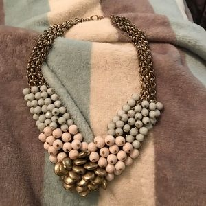 Jewelry - Mixed Media jewel neckline necklace